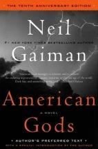 American Gods by Neil Gaiman Cover