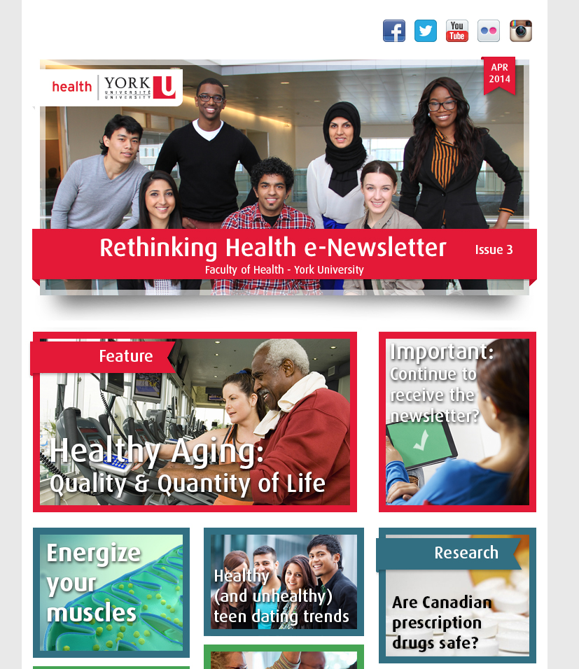 Faculty of Health eNewsletter Issue 3, April 2014