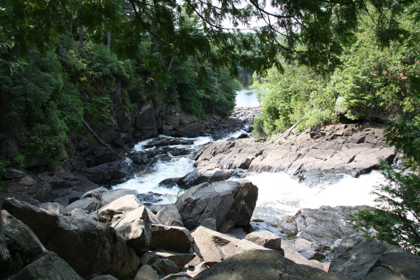 Oxtongue Falls